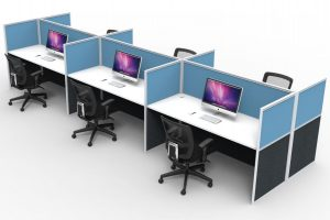Screen Workstation Pods