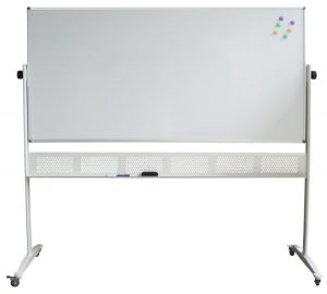Mobile Pivoting White Boards